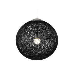 Loom suspension lamp