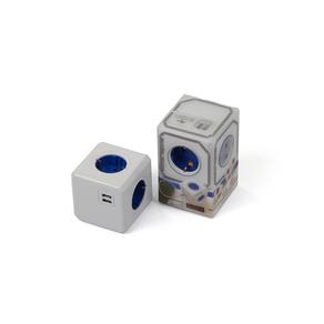 Lladre PowerCube + 2 usb azul