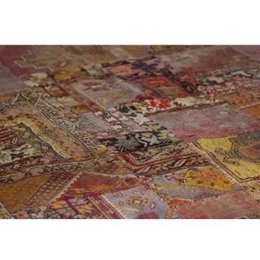 Metre quadrat catifa patchwork nusos decorats
